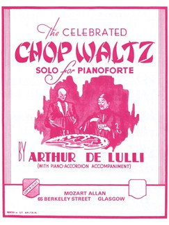 Arthur De Lulli: Chopsticks (Accordion) Books | Accordion, Piano Accompaniment