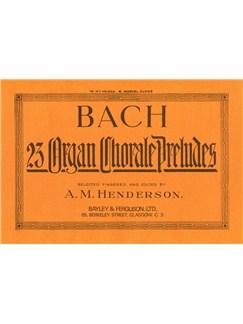 J.S. Bach: 23 Chorale Preludes Books | Organ