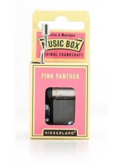 Hand Crank Music Box: The Pink Panther  |