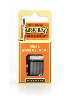 Hand Crank Music Box: What A Wonderful World  |