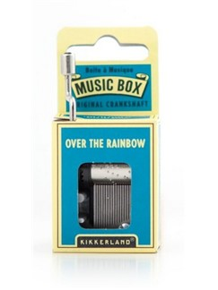 Hand Crank Music Box: Over The Rainbow  |