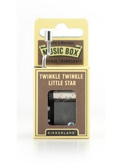 Hand Crank Music Box: Twinkle Twinkle Little Star  |