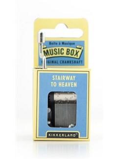 Hand Crank Music Box: Singin' In The Rain  |