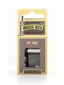 Hand Crank Music Box: My Way  |