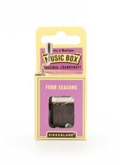 Hand Crank Music Box: The Four Seasons  |