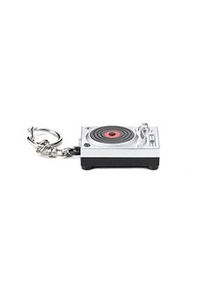 Turntable L.E.D. Keyring  |