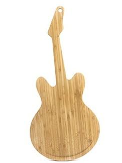 Guitar Rockin' Cutting Board: Bamboo  |