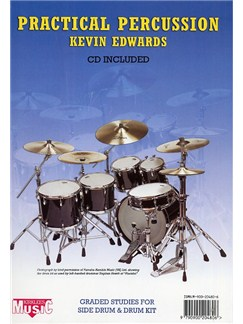 Kevin Edwards: Practical Percussion (CD Edition) Books and CDs | Drums