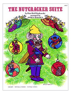 Pyotr Ilyich Tchaikovsky: The Nutcracker Suite (Piano Solo) Books | Piano