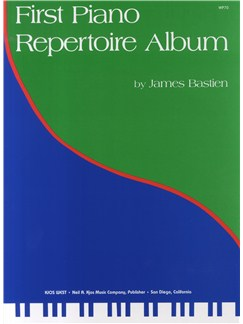 First Piano Repertoire Album - Levels 3 - 4 Books | Piano