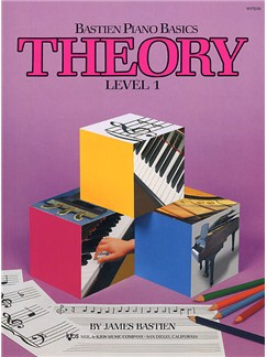 Bastien Piano Basics: Theory Level 1 Books | Piano
