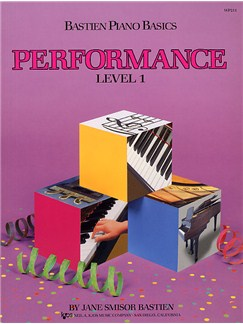 Bastien Piano Basics: Performance Level 1 Books | Piano