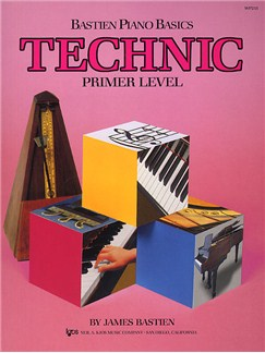 Bastien Piano Basics: Technic Primer Books | Piano
