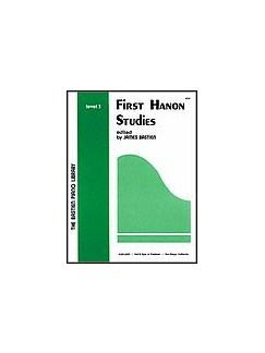 First Hanon Studies - Level 3 Books | Piano