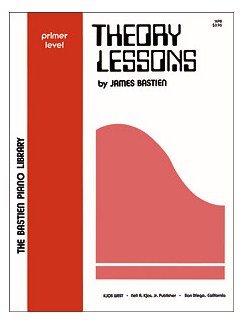 Bastien Piano Library Theory Lessons Primer Books  