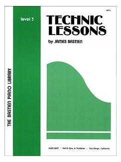 The Bastien Piano Library: Technic Lessons Level 3 Books | Piano