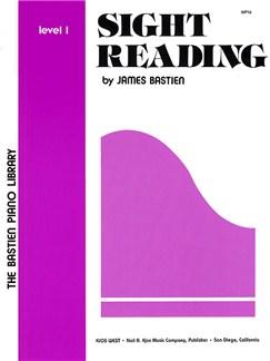 Bastien Piano Library: Sight Reading Level 1 Books | Piano