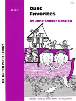 Jane Smisor Bastien: Duet Favorites - Level 1 Books | Piano Duet