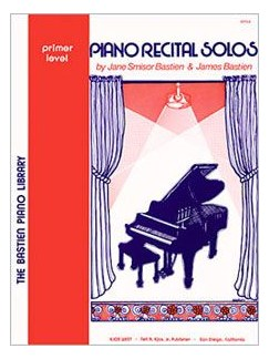 Bastien Piano Library: Piano Recital Solos - Primer Level Books | Piano