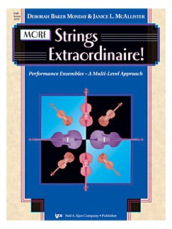 Deborah Baker Monday and Janice McAllister: More Strings Extraordinaire! (Score) Books | Violin, Viola, Cello, Double Bass