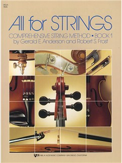 All For Strings Book 1 Viola Books | Viola