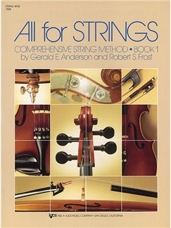 All For Strings Book 1 String Bass Books | Double Bass