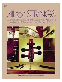 All For Strings Book 1 Piano Accompaniment Books | Piano Accompaniment