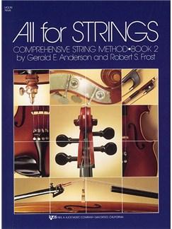 All For Strings Book 2 Violin Books | Violin