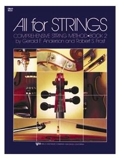All For Strings Book 2 Cello Books | Cello