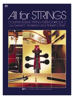 All For Strings Book 2 (Double Bass) Books | Double Bass