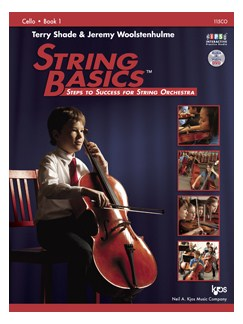 Terry Shade/Jeremy Woolstenhulme: String Basics - Book 1: Cello Books | Cello