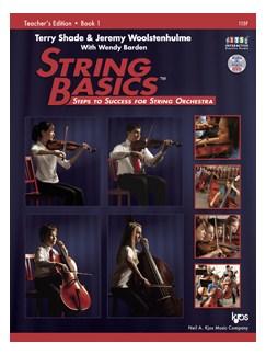 Terry Shade/Jeremy Woolstenhulme/Wendy Barden: String Basics - Book 1: Teacher's Edition Books | String Orchestra