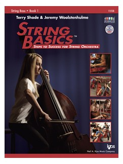 Terry Shade/Jeremy Woolstenhulme: String Basics - Book 1: String Bass Books | Double Bass