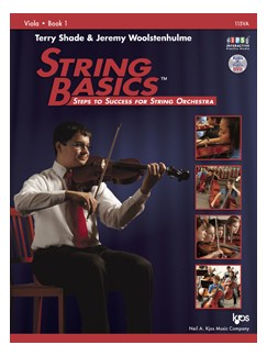 Terry Shade/Jeremy Woolstenhulme: String Basics - Book 1: Viola Books   Viola