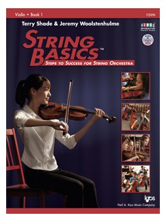 Terry Shade/Jeremy Woolstenhulme: String Basics - Steps To Success For String Orchestra - Book 1 (Violin) Books and DVDs / Videos | Violin