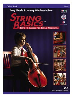 Terry Shade/Jeremy Woolstenhulme: String Basics - Book 2: Cello Books | Cello