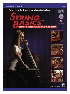 Terry Shade/Jeremy Woolstenhulme: String Basics - Book 2: String Bass Books | Double Bass