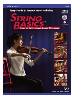 Terry Shade/Jeremy Woolstenhulme: String Basics - Book 2: Violin Books | Violin