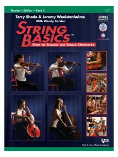 Terry Shade/Jeremy Woolstenhulme: String Basics - Steps To Success For String Orchestra – Book 3 – Teacher Edition Books and DVDs / Videos | Cello, Double Bass, Violin, Viola