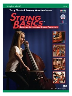 Terry Shade/Jeremy Woolstenhulme: String Basics – Steps To Success For String Orchestra – Book 3 (String Bass) Books and DVDs / Videos |