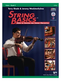 Terry Shade/Jeremy Woolstenhulme: String Basics – Steps To Success For String Orchestra – Book 3 (Viola) Books and DVDs / Videos | Viola