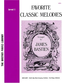 Favourite Classic Melodies Level 1 Books | Piano