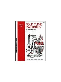 Folk Tune Favorites Primer Books | Voice, Piano
