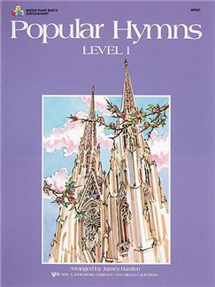 Popular Hymns - Level 1 Books | Piano