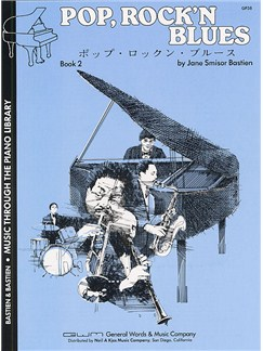 Pop, Rock'n Blues: Book 2 Level 3 Books   Piano