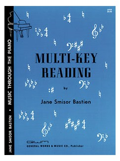 Jane Smisor Bastien: Multi-Key Reading (Piano) Books | Piano