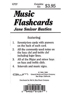 Music Flash Cards  | Piano