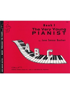 The Very Young Pianist: Piano Method Book 1 Books | Piano