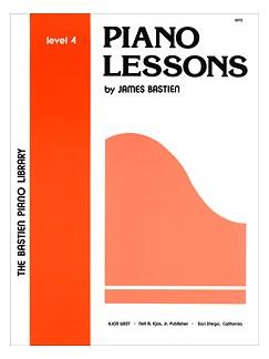 Bastien Piano Library - Piano Lessons Level Four Books | Piano