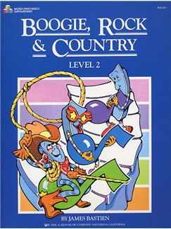 Boogie, Rock And Country Level 2 Books   Piano
